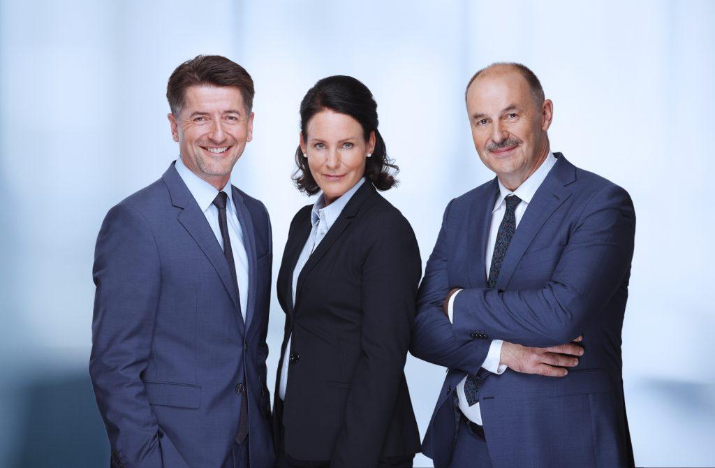 Thorsten Augusti, Annemarie Steinhauer-Ahrens, Thomas Niedenzu (v.l)